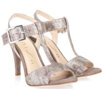 Wendol Sandalette Grau Silber