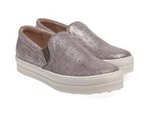 Slip-On Sneaker Silber