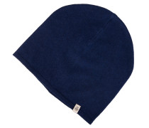 Beanie-Mütze Kaschmir Navy