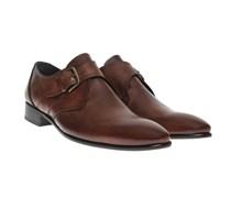 Monk-Strap-Schuhe Marone
