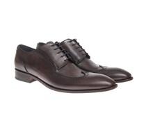 Enrico-Oxford-Schuhe Braun