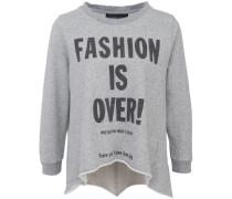 Christine Fleece Sweater Grey Melange