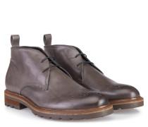 Half-Boots Leder Taupe