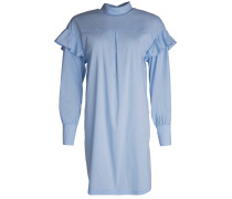 Romy Ruffle Dress Light Blue