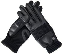 Handschuh Grafic Touch Schwarz