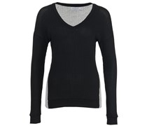 Augustina 03 Sweater Black Heather Grey