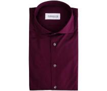 Business-Hemd Bordeaux