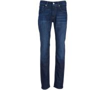 Jeans 'John' Slim Fit Blau