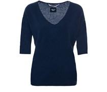 Oversized Shortsleeve Cashmere Sweater American Ocean