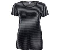 Classic Stripe Short Sleeve Black White