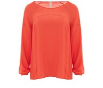 Carnaby Blouse Micropoly Orange