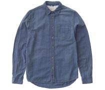 Denim Shirt Henry Heringbone