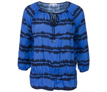 Tunika Mit Batikmuster Blue Navy Dye