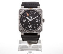 Aviation 42 Automatic GMT BR0393-GMT-ST/SCA