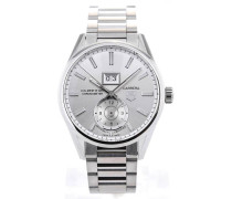 Carrera GMT Automatic 41 All Silver WAR5011.BA0723