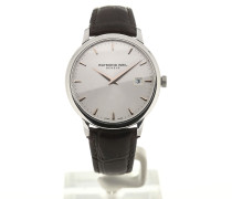Toccata 39 Quartz Silver Dial Brown Leather 5488-SL5-65001