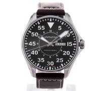 Khaki Aviation Pilot Automatic 46 Black Dial H64715535