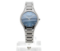 Noemia 32 Blue Dial Gemstone 5132-STS-50081