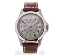 Khaki Field 42 Day Date King H64455522