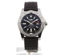 Avenger II 43 GMT Black Dial A3239011/BC35/153S