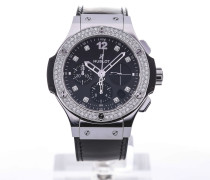 Big Bang Shiny 41 Automatic Black Leather 341.SX.1270.VR.1104