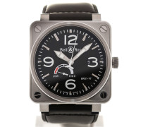 Aviation 46 Automatic Power Reserve BR0197-BL-ST