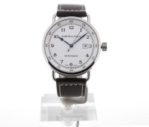 Khaki Navy Pioneer 43 Automatic Date H77715553