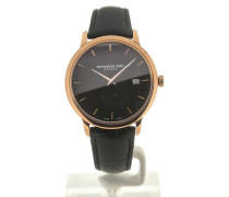 Toccata 39 Quartz Black Dial Black Leather 5488-PC5-20001