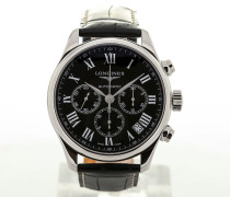 Master Collection 44 Black Dial L2.693.4.51.7