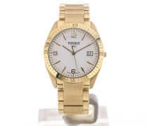 Ely Gold Date White Dial T73.3.416.14