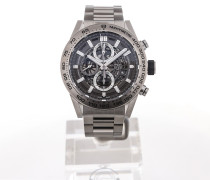 Carrera 45 Heuer 01 Chronograph Skeletonized Dial CAR2A8A.BF0707