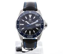 Aquaracer 41 Automatic Blue Bezel WAY211B.FC6363