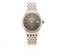 Les Classiques Date 38 Black Dial Milanaise LC6027-SS002-311