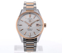 Carrera Automatic 39 Stainless Steel Rose Gold Details WAR215D.BD0784