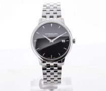 Toccata 42 Stainless Steel Black Dial 5588-ST-20001
