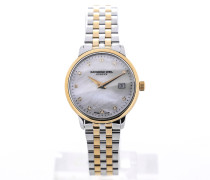 Toccata 29 Stainless Steel Yellow Gold Mother of Pearl Dial 5988-STP-97081