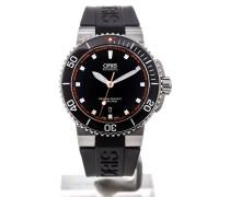 Aquis 43 Date Automatic Black Dial 01 733 7653 4128-07 4 26 34EB