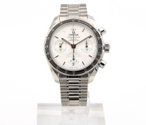 Speedmaster 38 Chronograph Silver Dial 324.30.38.50.02.001