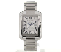 Tank Anglaise Silver Dial Date W5310009