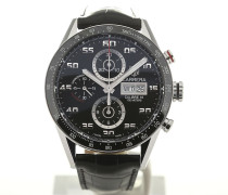 Carrera 43 Chronograph Day Date Leather CV2A1R.FC6235