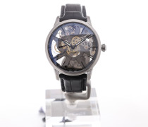 Masterpiece 43 Skeletonized Black Strap MP7138-SS001-030