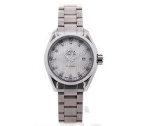 Seamaster Aqua Terra Quartz 30 White Mother of Pearl 231.10.30.60.55.001