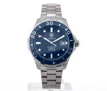 Aquaracer Automatic 41 Blue Dial WAN2111.BA0822