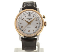 Heritage Presidents' Watch 39 Pink Gold Silver-toned Dial L.E. 100653.290L