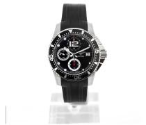 HydroConquest Black Chronograph L3.644.4.56.2