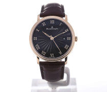 Villeret 40 Automatic Leather 6651-3630-55B