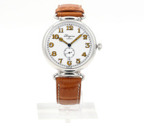 Heritage 1918 41 Automatic Brown Strap L2.809.4.23.2