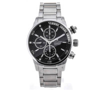 Pontos S Chronograph Steel Black Dial PT6008-SS002-330