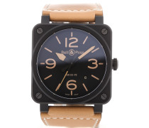 Aviation 42 Automatic Leather BR03-92-HERITAGE-CE