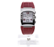 Constellation Quadra 34 Quartz Red Leather 1841.73.31